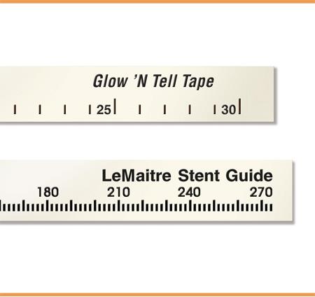 Lemaitre Glow N Tell Vascutape Radiopaque Marking Tape