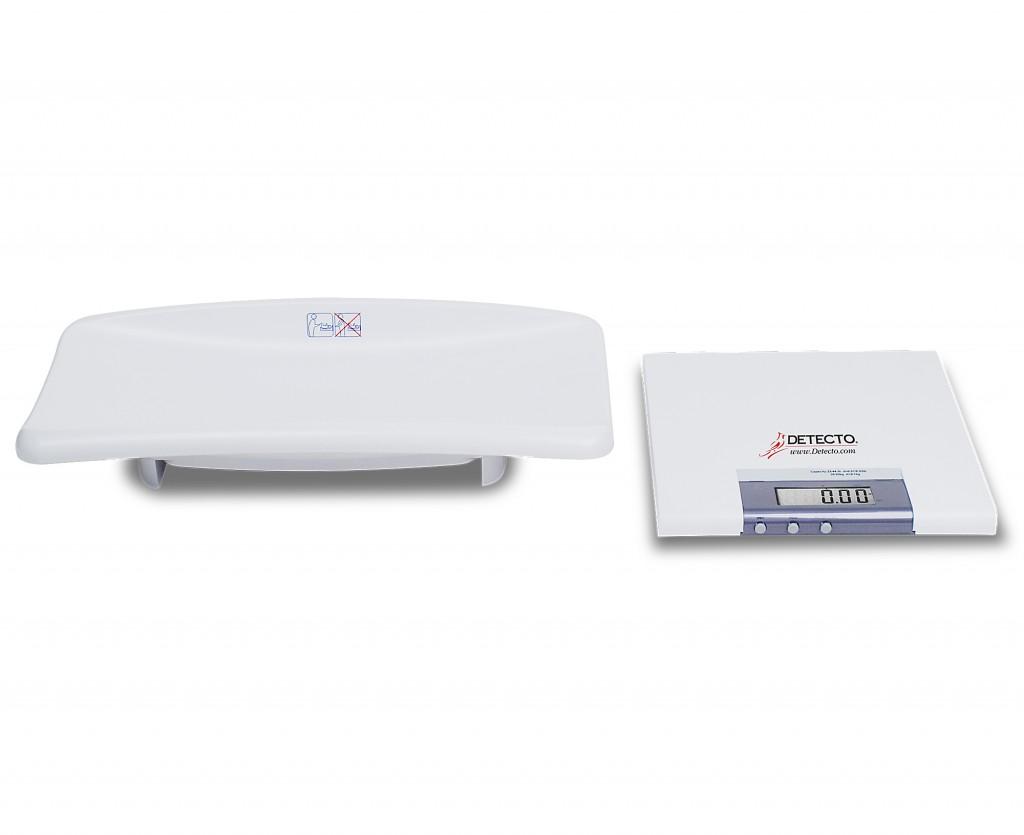 detecto mb130 digital scale detecto scale pediatric digital mb130 - Detecto Scales