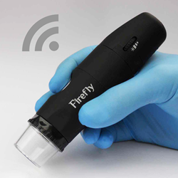 FireFly DE350 Wireless Polarizing Dermatoscope / Dermascope firefly video otoscope, wireless digital otoscope, polarizing dermatoscope, DE350