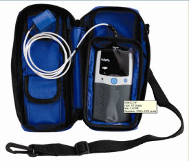 Nonin 2500CC  Blue Carrying Case for Series 2500 nonin 2500cc, nonin 2500cc carrying case, carrying case 2500, handheld carrying case, 2500cc