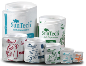 Suntech Disposable Veterinary Cuff. Box of 20 (Different Sizes) suntech, disposable, veterinary, cuff