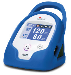 SunTech 99-0170-01 Vet25 Veterinary BP Monitor  Suntech, veterinary, vet25, blood pressure, monitor, 99-0170-01