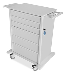TrippNT Carts Element 02 Advanced Extra Large Medical Procedure Cart trippnt, cart, element, extra large, medical procedure