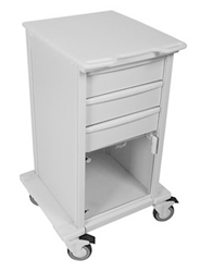 TrippNT Carts Element 03 Advanced Space Saving Medical Cart  trippnt, cart, element, advanced, space, saving