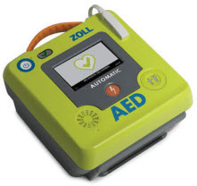 ZOLL AED 3 Fully or Semi Automatic External Defibrillator (Different Versions) zoll, aed, 3, basic, bls, defibrillator, external, semi automatic, automatic
