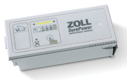 ZOLL 8019-0535-01 SurePower Lithium Battery Rechargeable for R Series, E Series zoll 8019-0535-01 surepower, lithium battery, r series battery
