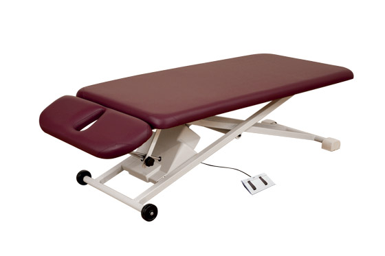 Oakworks Physical Therapy Tables diverse treatments, open base design, great ergonomics, physical therapy table