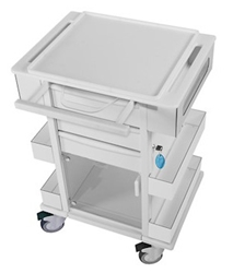TrippNT Carts Element 01 All Purpose Medical Cart trippnt, cart, element, all purpose, medical
