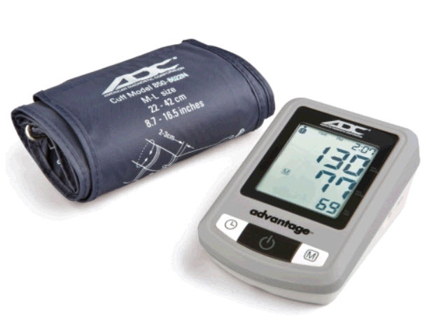 ADC 6021N Advantage Automatic Digital BP Monitor bp monitor, blood pressure monitor, adc 6021, adc advantage