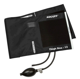 ADC 865-13TBK Adcuff Sphyg Inflation System, Black  adc, adview cuff,  adult cuff black,, cuff adc, adview cuff, adc 865-13tbk