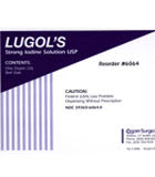 CooperSurgical 6064 Lugols Iodine Solution. Box of 12 coopersurgical, 6064, lugol, iodine, solution