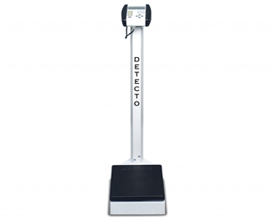 Detecto 6129 Digital Scale with Height Rod Capacity 500lbs detecto, scale, digital, 6129