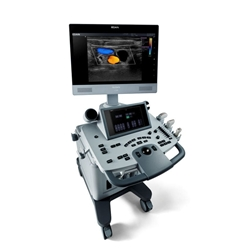 EDAN Acclarix LX8 Diagnostic Ultrasound System With Trolley Cart Edan, Acclarix, LX8, Diagnostic, Ultrasound, System
