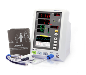EDAN M3A & M3B Vital Signs Monitors (Different Versions) edan m3a, edan m3a monitor, vital signs m3a, M3B