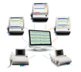 Edan MFM-CNS Fetal Monitoring Central Station edan MFM-CNS, edan central, fetal monitoring