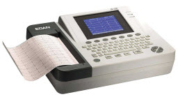 Edan SE-1200 ECG Resting Machine edan, se,1200, ecg, ekg, monitor, heart, medical, equipment