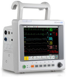Edan iM60 10.4 Color Patient  Monitor edan im60, im60, m60, patient monitor, edan