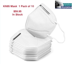 KN95 Face Mask (1 Pack of 10) KN95 Mask, KN95 Mascarilla, Mask, kn95, Mascarilla, mascara
