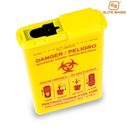 SKINTACT EB09.001 Bio Hazard Container trauma bags, bags, paramedic backpack, backpack, elite bags, skintact bags, als bag, EB09.001 , biohazard container