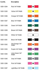 Scanlan Surgi-I-Band Color Coding Data Matrix Barcode (Different Colors) scanlan surgi i band, color coding, data matrix, 1001-1084