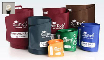 Suntech One Piece Durable Cuff, Single Tube, Female Quick Connect Box 5 (Different Sizes) Suntech, One Piece, Durable Cuff, Single, Tube, Female, Quick Connect