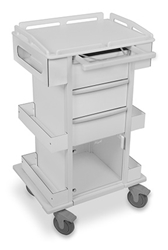 TrippNT Carts Element 05 Advanced Tall All Purpose Medical Cart trippnt, cart, element, advanced, tall, medical, all purpose