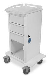 TrippNT Carts Element 06 Advanced Tall Space Saving Medical Cart trippnt, cart, element, advanced, tall, medical, space, saving
