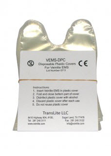 Veinlite EMS/EMS Pro Disposable Covers. Box of 50 veinlite, ems, disposable, covers