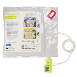ZOLL 8900-0801-01 Stat-Padz II HVP Multi-Function Electrodes (Different Quantities) zoll stat padz, 8900-0802-01, 8900-0801-01, each aed plus electrodes, aed pro, ZOLLAEDAccessories,