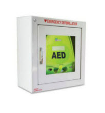 ZOLL AED Plus Automatic External Defibrillator with Cabinet Package zoll aed plus, zoll unit, aed plus, aed from zoll, automatic external, defibrillator, cabinet, package, zoll medical, cpr padz