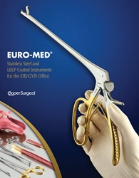EURO-MED Catalog - Stainless Steel and LEEP Coated Instruments for the OB/GYN Office EURO-MED,  Stainless Steel, LEEP Coated Instruments , OB/GYN,  Office , CooperSurgical