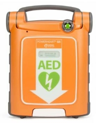 Powerheart G5 AED Dual Language (English/Spanish) G5S-80A, Powerheart, G5, AED, PowerheartAccessories, EXTERNAL_DEFIBRILLATOR,